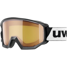 UVEX Athletic LGL Gogle, black/lasergold lite